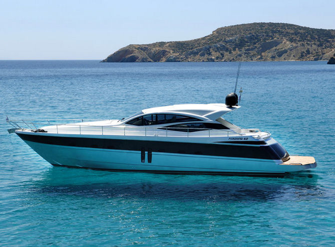 M Y Mima I Pershing 62 For Rental Greece Alpha Yachting