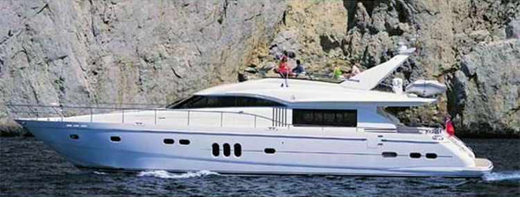 Princess 75 motor yacht for sale rhodes greece alpha for Princess 75 motor yacht