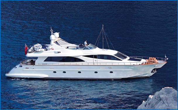 Falcon 90 Used Motor Yacht For Sale Greece Alpha Yachting