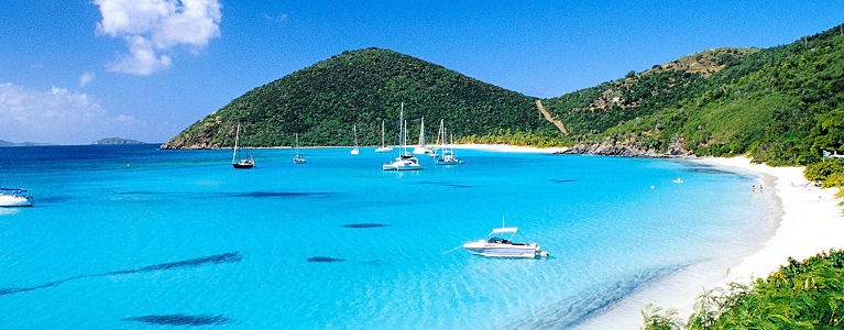 Sailing British Virgin Islands Catamaran